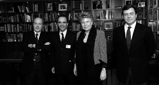 Visit of the CEOs of Colt, Fastweb and Wind to the EC