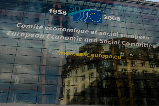 The front of the European Economic and Social Committee © EU