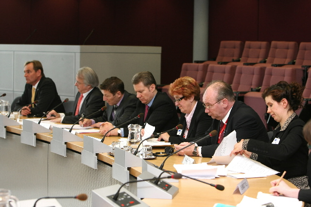 Visit of the Mayors of European Cities elected to the Executive Committee of Eurocities, to the EC