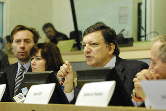 Participation of José Manuel Barroso at the conference