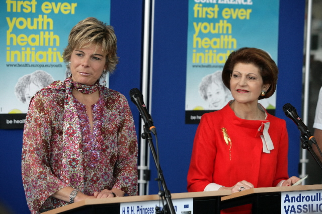 Participation of Androulla Vassiliou, Member of the EC, at the launch of the initiative Be Healthy - Be Yourself