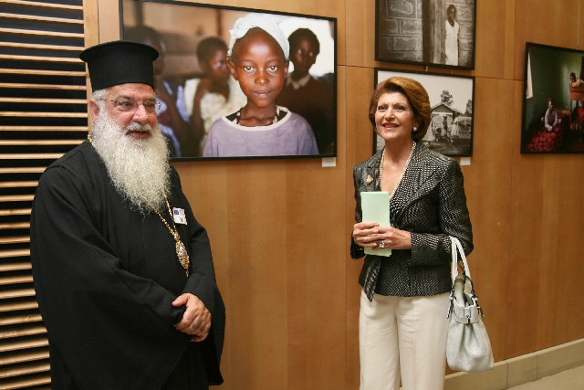 Opening of the photo exhibition 'Just care - Africa'