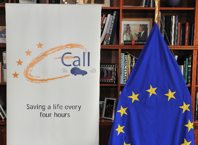 Signature of the eCall Memorandum of Understanding, the in-car automatic emergency call system