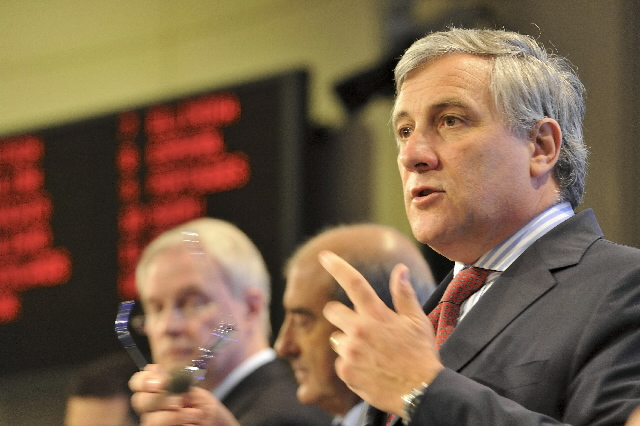 Press conference by Antonio Tajani, Member of the EC, on the Action Plan on Urban Mobility