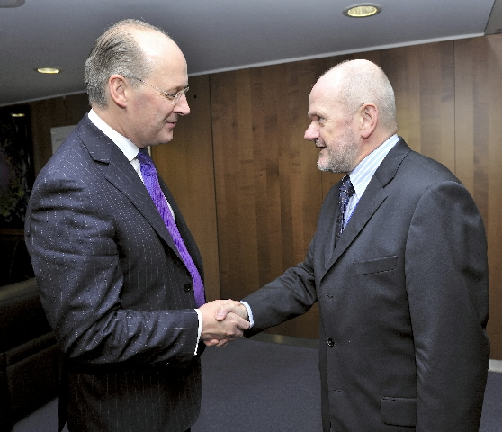 Visit of John Swinney, Cabinet Secretary for Finance and Sustainable Growth in the Scottish Government, to the EC