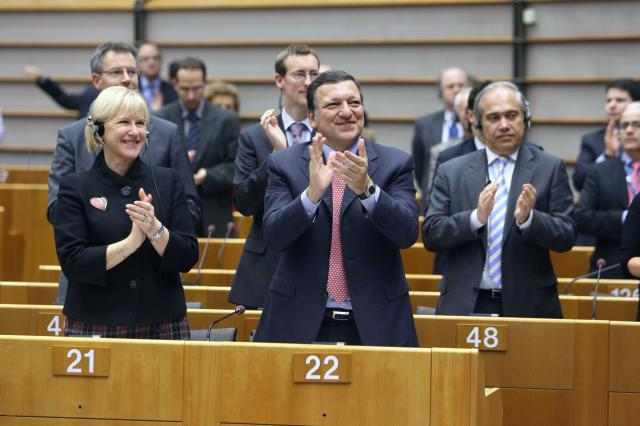 20th anniversary of democratic change in Central and Eastern Europe