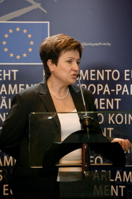 Hearing of Kristalina Georgieva, Member designate of the EC, at the EP