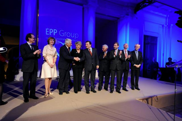 Participation of José Manuel Barroso, President of the EC, at the EPP Group European Evening