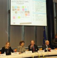 Participation d'Androulla Vassiliou, Member of the EC, at the 14th DG Interpretation-Universities Conference