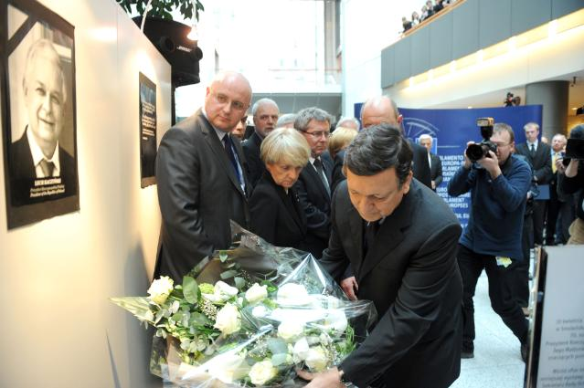 Exhibition of the 70th anniversary of the Katyn massacre and tribute to late Lech Kaczyński, President of Poland
