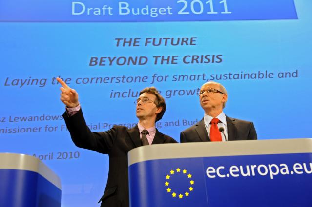 Press conference by Janusz Lewandowski, Member of the EC, on the priorities of the 2011 draft budget of the EU