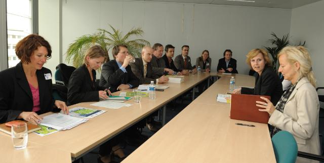 Visit of representatives of the Green 10, to the EC