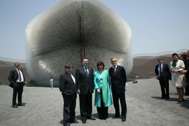 Inauguration de l'Exposition universelle de Shanghai 2010