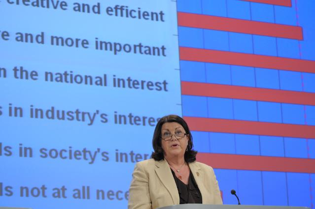 Press conference by Máire Geoghegan-Quinn, Member of the EC, following the publication of the new Eurobarometer report on Science