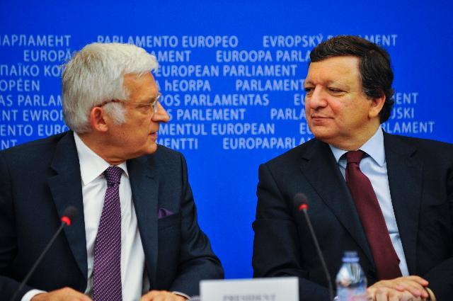 Participation de José Manuel Barroso à une session plénière du PE