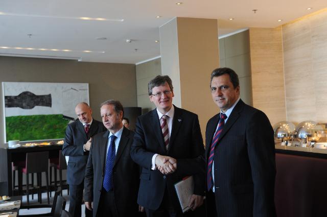Visit of László Andor, Member of the EC, to Romania
