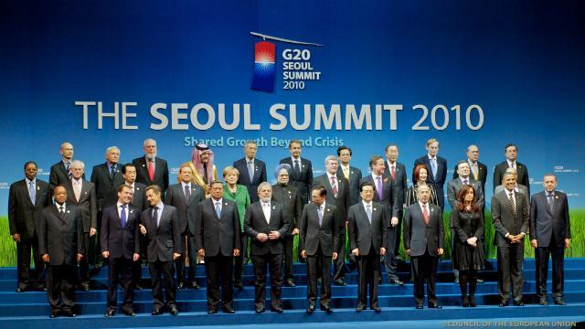Sommet du G20 à Séoul