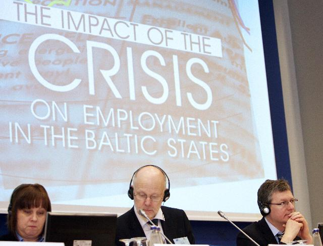 Participation of László Andor, Member of the EC, at the conference entitled The Impact of the Crisis on Employment in the Baltic States, organised in Vilnius