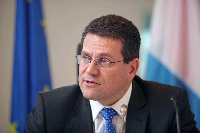 Visit of Maroš Šefčovič, Vice-President of the EC, to Luxembourg