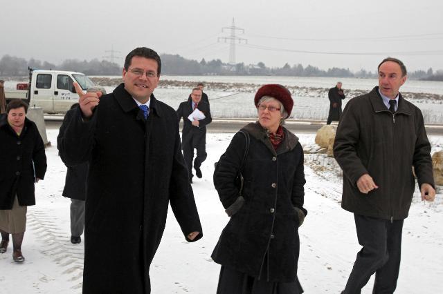 Visite de Maroš Šefčovič, vice-président de la CE, au Luxembourg