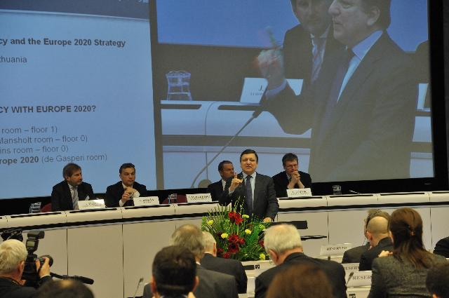 Participation of José Manuel Barroso, President of the EC, at the 5th Cohesion Forum