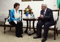 Visit of Catherine Ashton, Vice-President of the EC, to Ramallah