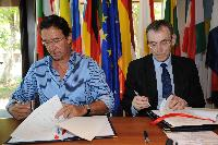 Visit of Andris Piebalgs, Member of the EC, to New Caledonia
