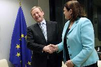 Visite d'Enda Kenny, Premier ministre irlandais, à la CE
