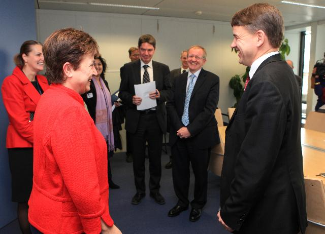 Visit of Christian Friis Bach, Danish Minister for Development Cooperation, to the EC