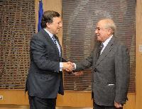 Visit of Yiannakis Omirou, President of the Cypriot House of Representatives, to the EC