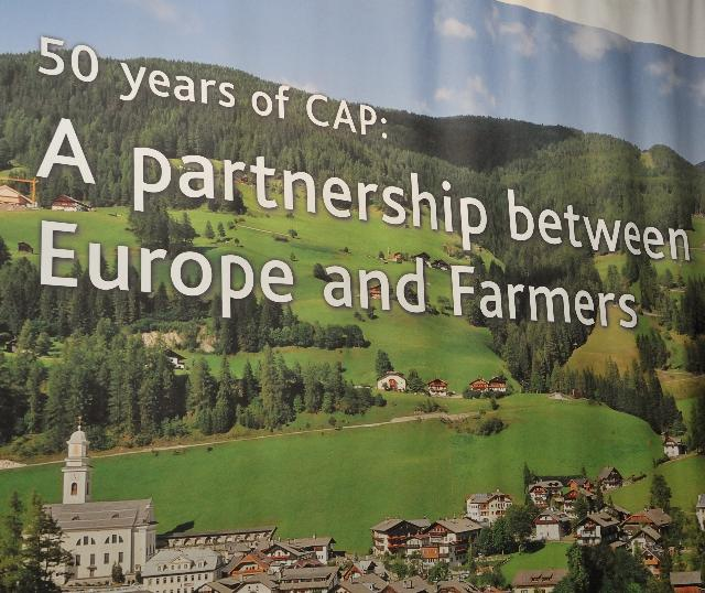 50th anniversary of the Common Agricultural Policy