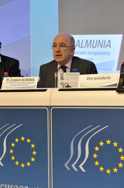 Participation of José Manuel Barroso, Joaquín Almunia and Maroš Šefčovič in the plenary session of the European Economic and Social Committee