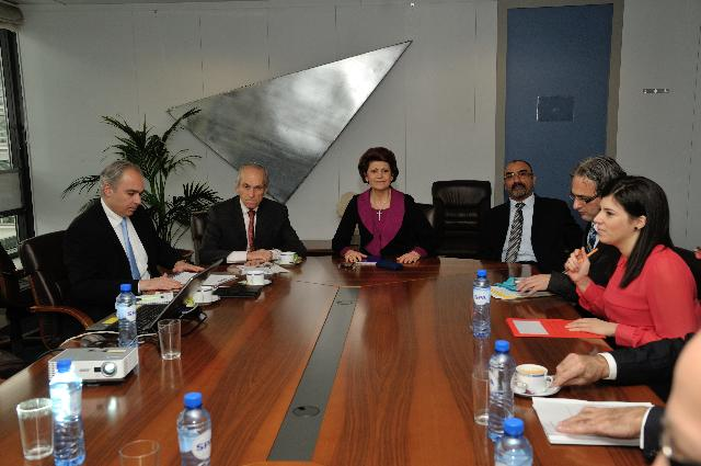 Visit of Michael Leptos, Founder and Executive Chairman of the Leptos Group, to the EC