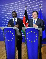 Visit of Raila Odinga, Kenyan Prime Minister, to the EC