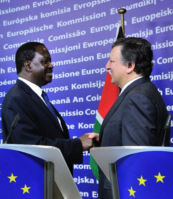 Visit of Raila Odinga, Kenyan Prime Minister, to the EC