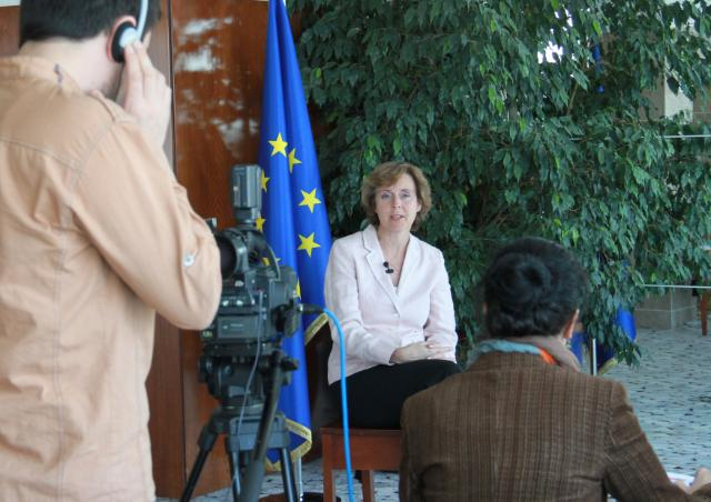 Visit of Connie Hedegaard, Member of the EC, to Turkey