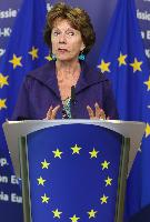 Joint press conference by Neelie Kroes, Vice-President of the EC, and Christian van Thillo, CEO of De Persgroep and Chairman of the EU Media Futures Forum