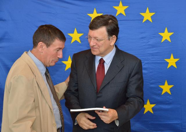 Visit by José Manuel Barroso, President of the EC, of the Memorial of Alsace-Moselle