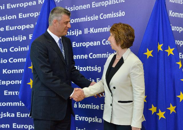 Visit of Hashim Thaçi, Kosovan Prime Minister, to the EC