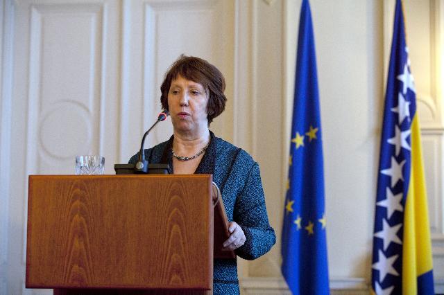 Visit of Catherine Ashton, Vice-President of the EC, to Bosnia and Herzegovina