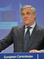 Joint press conference by Antonio Tajani, Vice-President of the EC, and Cecilia Malmström, Member of the EC, on the visa policy to spur economic growth in the EU