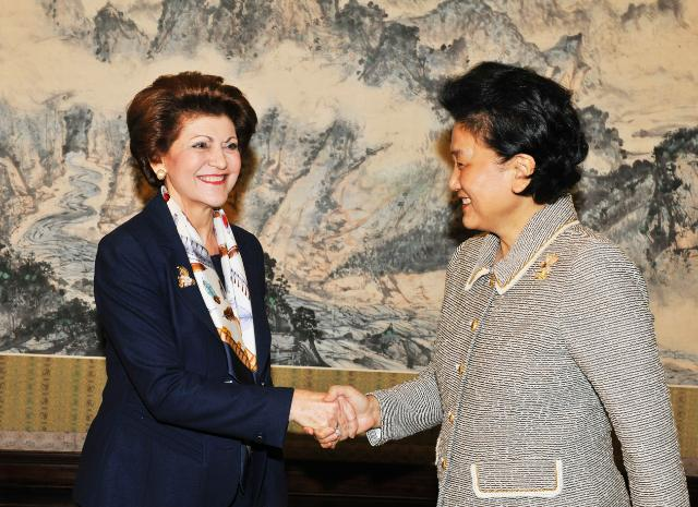 Visit of Androulla Vassiliou, Member of the EC, to China