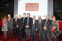 Cérémonie de remise du Prix du livre européen 2012, avec la participation d'Androulla Vassiliou, membre de la CE