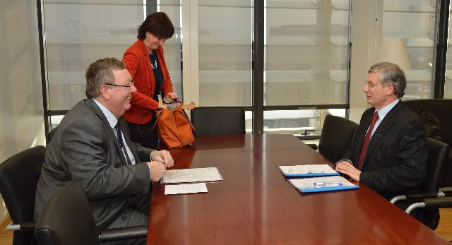 Visit of Peter Vicary-Smith, President of the BEUC, to the EC