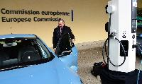 Press conference by Siim Kallas, Vice-President of the EC, on the launch of the clean fuel strategy, and electric vehicle testing