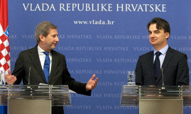 Visit of Johannes Hahn, Member of the EC, to Croatia
