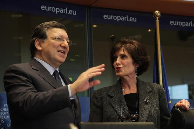 Participation of José Manuel Barroso, President of the EC, in the conference of the Presidents of the EP