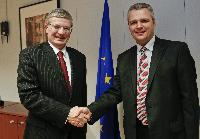 Visit of Vigilijus Jukna, Lithuanian Minister for Agriculture, to the EC