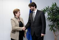 Visit of Robert Kaliňák, Slovakian Minister for the Interior, to the EC