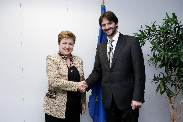 Visit of Robert Kaliňák, Slovak Minister for the Interior, to the EC